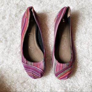 TOMS One For One Slip On Shoe Size 9